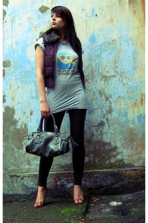 silver original South Park t-shirt - silver Calliope purse