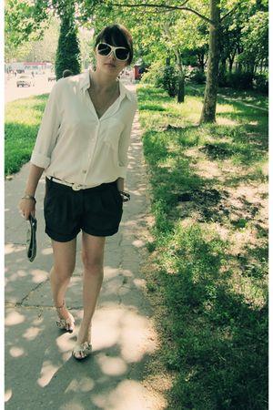 brown Tally Weijl shorts