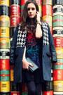 Silver-kira-plastinina-boots-black-printed-stylemoi-dress