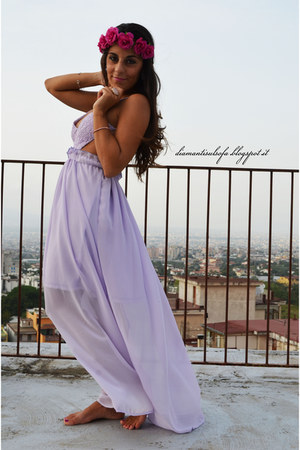 periwinkle VESSOS dress