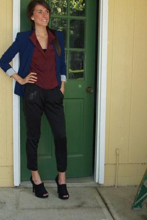 Steve Madden heels - BCBGMAXAZRIA blazer - BCBGMAXAZRIA top - Gap pants
