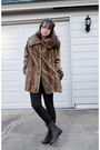 Brown-jones-new-york-coat-brown-target-boots
