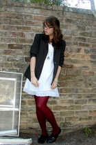 We Love Colors tights - dress - Jeffrey Campbell shoes