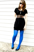 Tatiana B dress - Urban Outfitters necklace - Target belt - We Love Color tights