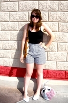 Charlotte Russe top - rainbow shorts - Target shoes - Axcess accessories - Betse