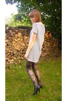 Promod dress - H&M leggings - H&M shoes