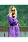 Violet-whbm-dress-black-furla-bag-black-gucci-sunglasses-red-tuiggi-heels