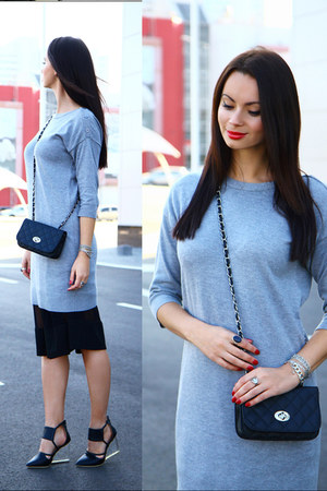 heather gray ostin dress