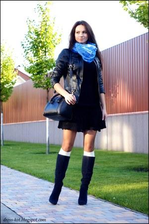 black crochet Victorias Secret dress