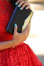 Red-asos-dress-black-dvf-bag-gold-giuseppe-zanotti-heels