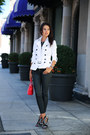 White-burberry-coat-black-rich-skinny-jeans-red-givenchy-bag