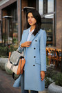 Sky-blue-paul-joe-coat-navy-rich-skinny-jeans-brown-bcbg-bag