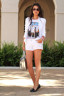 Silver-reed-krakoff-bag-white-zara-shorts