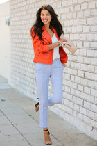 carrot orange Truth & Pride jacket - beige Marc Jacobs bag