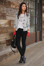 Black-zara-boots-heather-gray-true-religion-sweater-white-j-crew-t-shirt