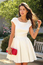 White-rachel-zoe-dress-red-j-crew-bag-white-pink-pepper-heels
