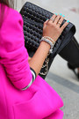 Black-rebecca-minkoff-bag-hot-pink-j-crew-coat-white-free-people-top