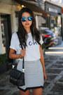 White-ily-couture-t-shirt-sky-blue-nanette-lepore-blazer