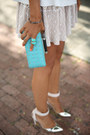 Aquamarine-dvf-bag-tan-torn-by-ronny-kobo-skirt-white-torn-by-ronny-kobo-top