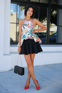 Black-armani-bag-red-miu-miu-heels-black-cameo-skirt-ivory-cameo-top