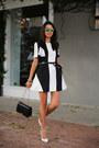 Black-finders-keepers-dress-black-armani-bag-green-illesteva-sunglasses
