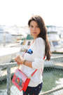 White-joie-sweater-navy-minusey-jeans-red-marc-by-marc-jacobs-bag