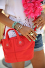 Red-givenchy-bag-navy-7-for-all-mankind-shorts-white-equipment-blouse