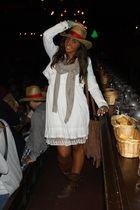 brown italian brand boots - beige Zara dress - brown Zara purse - white Zara jac