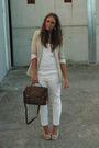 Beige-zara-blazer-white-h-m-top-white-zara-pants-beige-kanna-shoes-brown