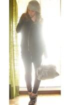 H&M accessories - H&M dress - Zara leggings - Zara shoes - balenciaga accessorie