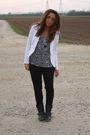 White-zara-blazer-black-alcott-top-black-h-m-pants-black-zara-boots-blac
