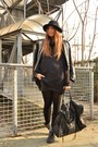 Black-zara-boots-black-diy-jacket-black-h-m-sweater-black-balenciaga-bag