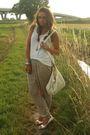 White-h-m-top-yellow-zara-pants-white-no-brand-shoes-beige-h-m-purse-sil
