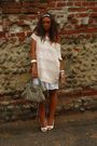 Pink-h-m-dress-white-h-m-dress-white-no-brand-shoes-white-h-m-accessories-