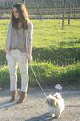 Beige-h-m-cardigan-beige-zara-shirt-brown-vintage-belt-beige-zara-pants-