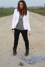 White-zara-blazer-black-h-m-pants-white-alcott-top-black-zara-boots-blac
