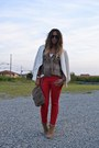 Red-zara-pants-camel-asos-boots-ivory-h-m-blazer-light-brown-zara-shirt