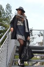 Silver-river-island-shoes-silver-zara-dress-black-zara-coat