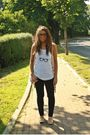 Gold-h-m-cardigan-white-h-m-top-black-zara-pants-gold-zara-shoes-black-a