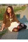 Brown-h-m-jeans-beige-zara-dress-brown-calzedonia-tights-beige-h-m-shoes-