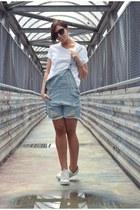 light blue Sheinside shorts