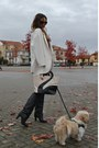 Zara-boots-zara-dress-zara-coat-cigno-bag-romwe-bag-h-m-necklace