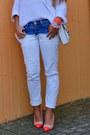 White-zara-jeans-light-orange-h-m-shoes-white-zara-sweater-white-h-m-bag