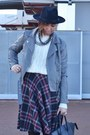 Heather-gray-forever-21-jacket-ivory-bershka-sweater-black-celine-bag