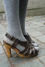 Magenta-sweater-light-pink-shorts-heather-gray-socks-dark-brown-shoes