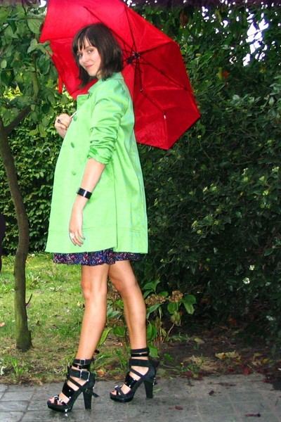 H&M coat - H&M dress - H&M shoes - accessories