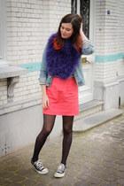 salmon skirt
