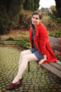 Dark-brown-shoes-navy-dress-red-coat-cream-tights