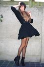 Black-dress-black-cardigan-brown-accessories-black-tights-black-belt-b