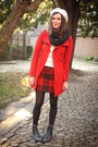 Black-boots-red-coat-white-sweater